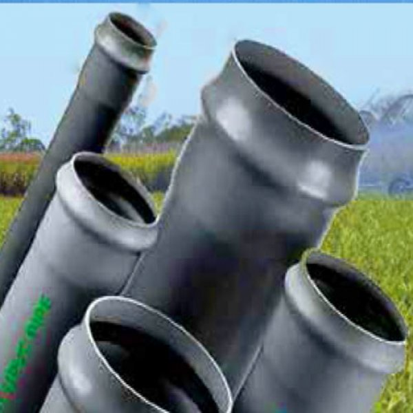 PVC Pipes pressure (63 to 200 mm - Rubber Ring Joint)