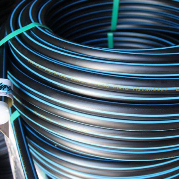 Polyethylene pipes 20 to 400mm
