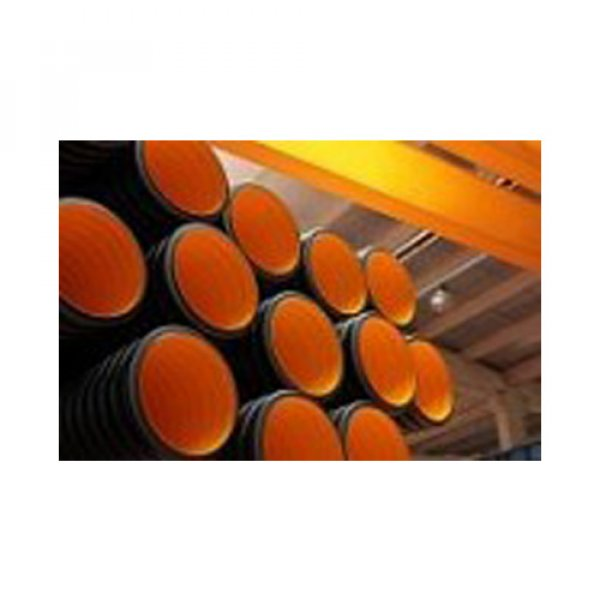 Polypropylene (PP) Double wall corrugated pipes & fittngs (comply EN 13476)