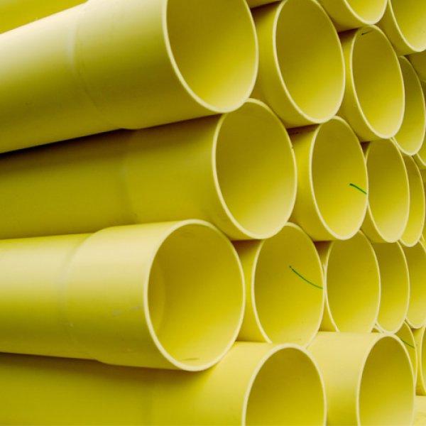 pvc conduit yellow
