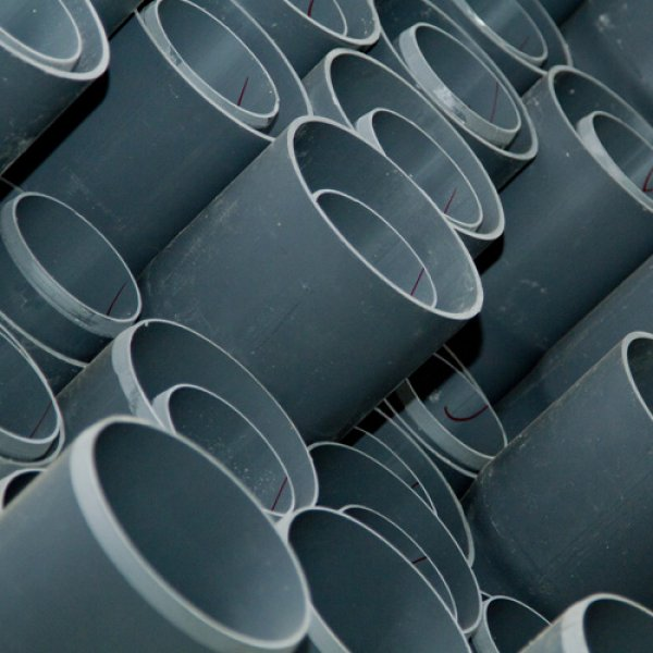 PVC pressure pipes 20 to 250mm