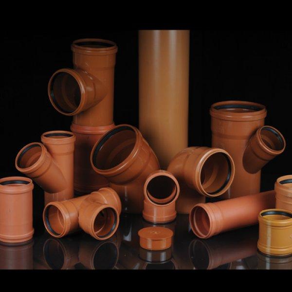 PVC Sewerage Fittings (EN 1401)